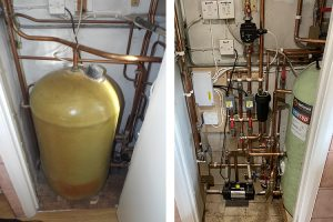McDonald Vented hot water cylinder