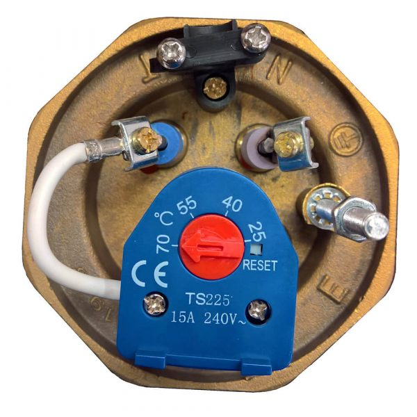 Thermostat in immersion heater