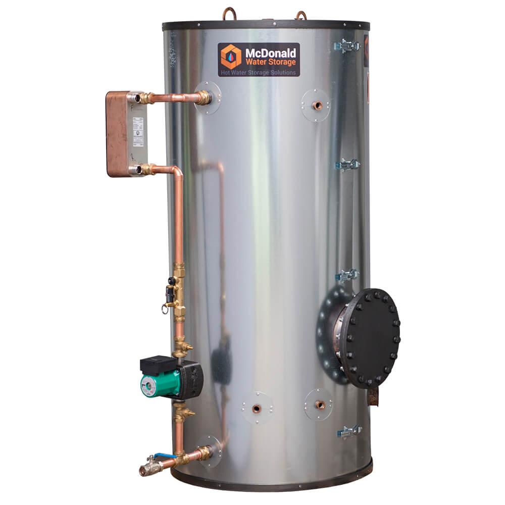 PLATEflow hot water cylinder