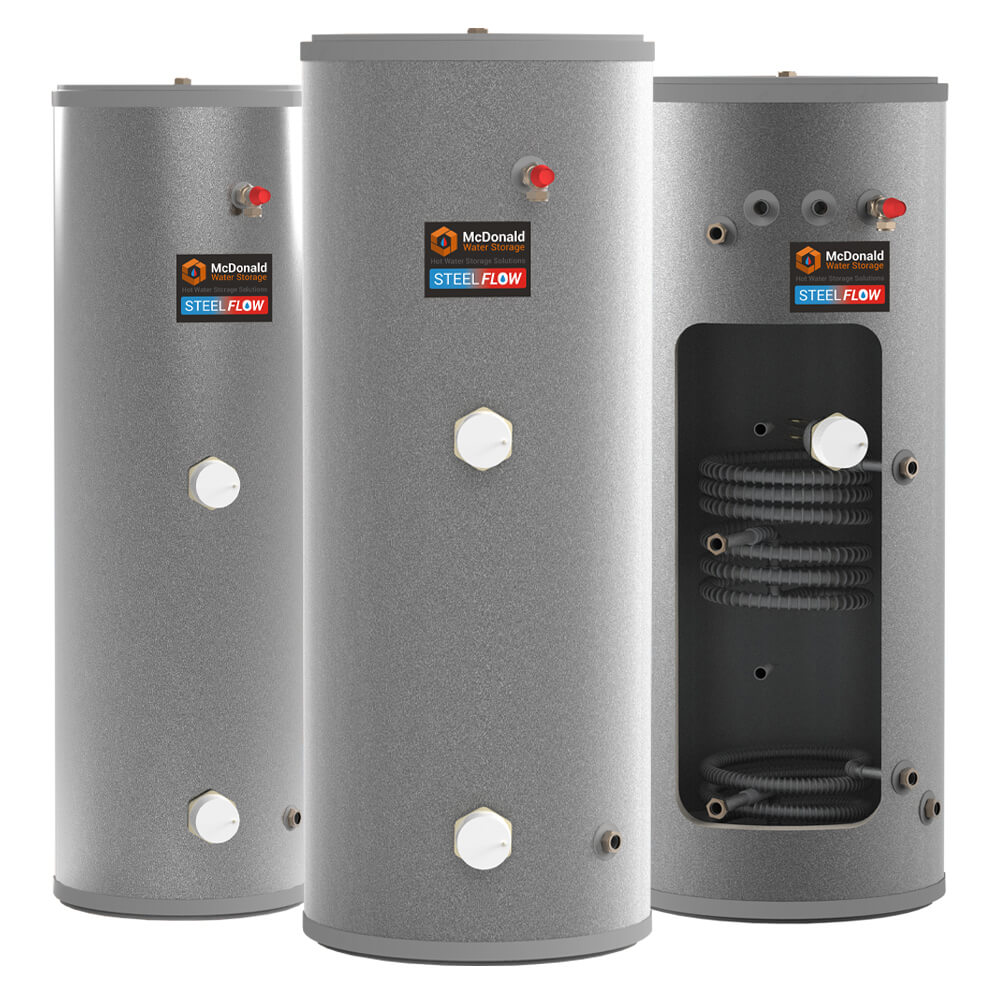 STEELflow unvented cylinders